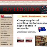 Buy LED Signs Australia Website