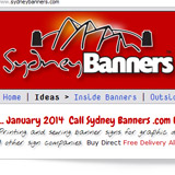 Sydney Banners Hanging Poster and Store Display Supplier